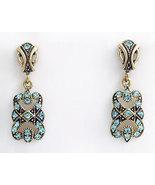 Deco Style Earrings Swarovski Crystals Reproduc... - $42.00