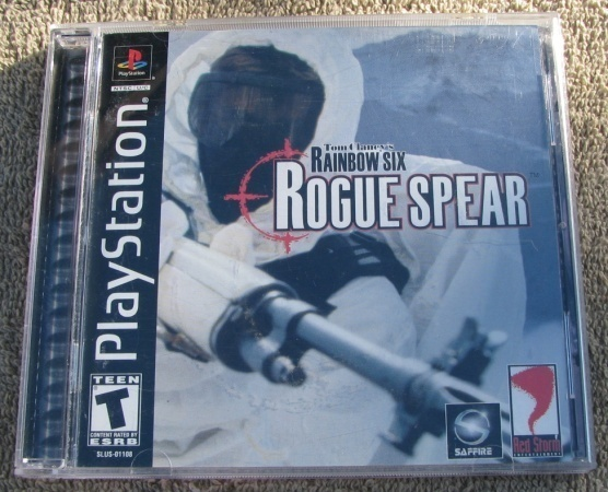 Tom Clancy's Rainbow Six 6 Rogue Spear Playstation Game