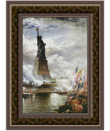 Unveiling the Statue of Liberty, Cross Stitch P... - $39.00