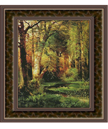 Forest Scene, Cross Stitch Pattern - $45.00