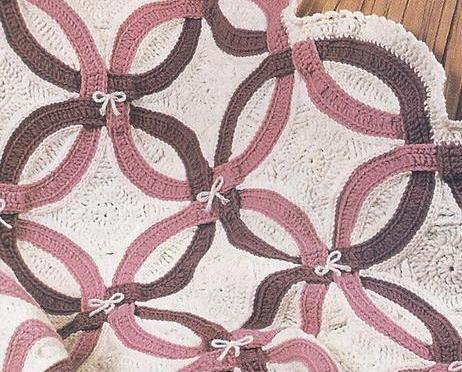 Free Crochet Wedding Ring Quilt Pattern : AFGHAN PATTERN FOR WEDDING RING FREE Knitting PATTERNS