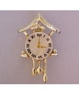 FREEBIE Vintage Cuckoo Clock Lapel Pin mother o... - $0.00
