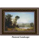 Pastoral Landscape, Cross Stitch Pattern - $45.00