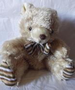 Bowtie Brown Teddy Bear 15 inch UNSTUFFED Stuff... - $25.00