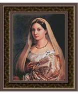 LaDonna Velata, Cross Stitch Pattern - $45.00