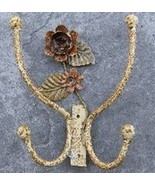 SHABBY COUNTRY CHIC Rose Double Hook - $52.00