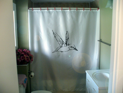 CarolWrightGifts.com Search Results: hummingbird shower curtain