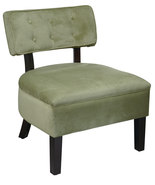 Avenue Six Button Back Living Room Armless Acce... - $149.00