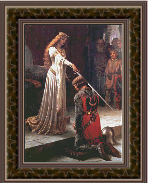 The Accolade, Cross Stitch Pattern