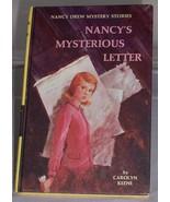Nancy Drew #8 Nancy's Mysterious Letter Vintage... - $4.99