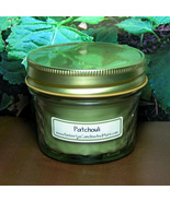 Patchouli 4 oz. Jelly Jar Candle PURE SOY - $5.25