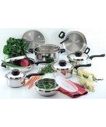 Chef's Secret 15 piece 12-Element T304 Stainles... - $245.37