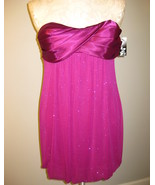 Jump Strapless Glitter Bubble Dress Size 3/4 NWT - $42.00