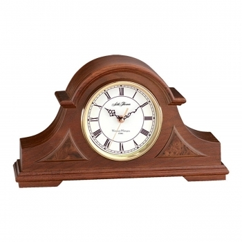 Seth Thomas Buckingham Tambour Mantel Clock with Westminster & Whittington Chime