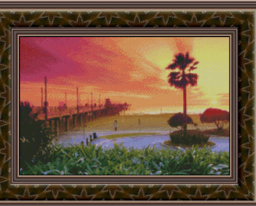 Vivid Daydreams, Cross Stitch Pattern
