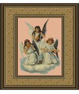 Joyful Trio, Cross Stitch Pattern - $12.00
