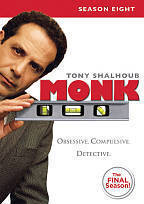 Monk: Season Eight (DVD, 2010)
