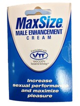 MD Lab MaxSize Male Enhancement Cream! Max Size... - $19.99