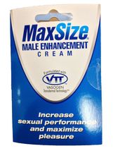 MD Lab MaxSize Male Enhancement Cream! Max Size... - $11.99