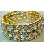 Vintage Pastel Multi Color Rhinestone Expansion... - $24.95