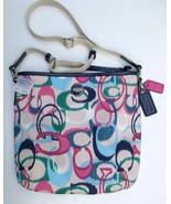 Coach Signature Ikat Print Duffle, Multi-Color,... - $135.00