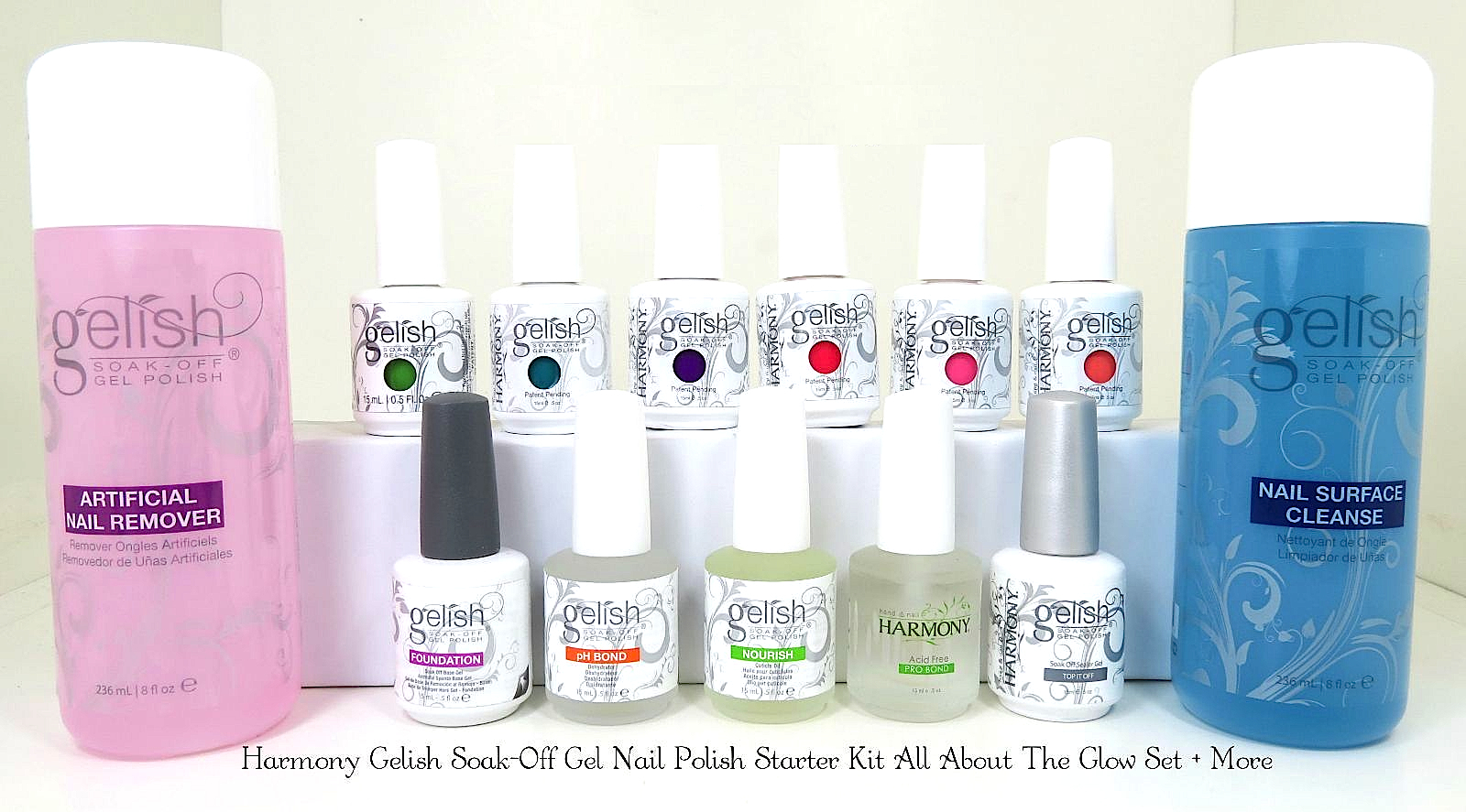 harmony gelish gel nail polish starter kit all about the. Black Bedroom Furniture Sets. Home Design Ideas