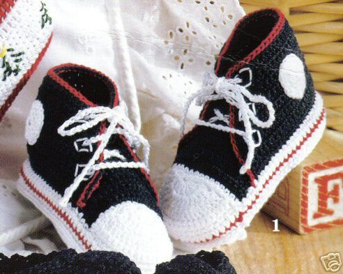 Vintage BABY Booties Soft Shoes Thread Crochet PATTERN | eBay
