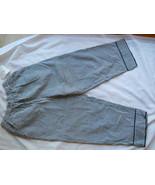 Dressbarn Ladies Capri Pants Slacks Black White... - $16.99