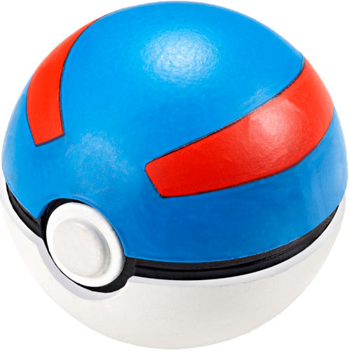 Pokemon Great Ball Soft Foam Pokeball Pokeball 2011 Black White New in Plastic!