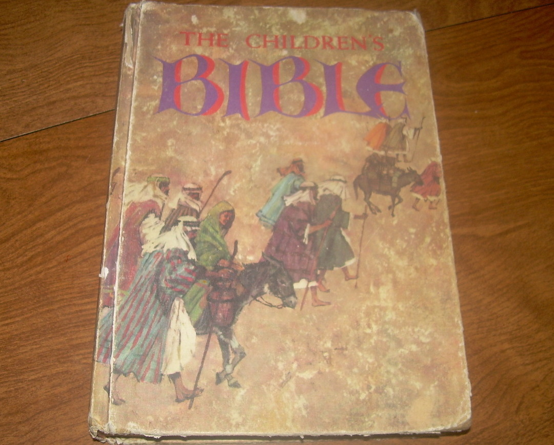 The Children's Bible by Golden Press 1965 edition