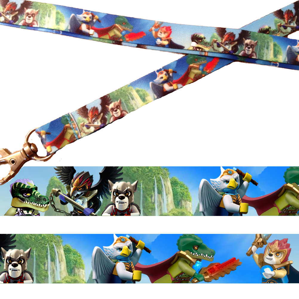 12 legends of chima birthday party favor lanyards w guest name cards