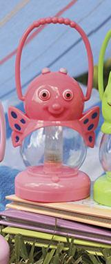 Pink Butterfly Animal Lantern (one)