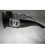 DG Black And White Leopard Sunglasses  - $10.95