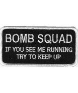 Embroidered Patch Bomb Squad Patch - $3.22