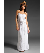 Ella Moss Enchantment Maxi Dress in White - Medium