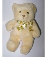 Vintage 1987 Heartline Teddy Bear Tan Beige Bea... - $24.97