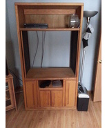 One Custom Made Entertainment Armoire, partiall... - $49.99