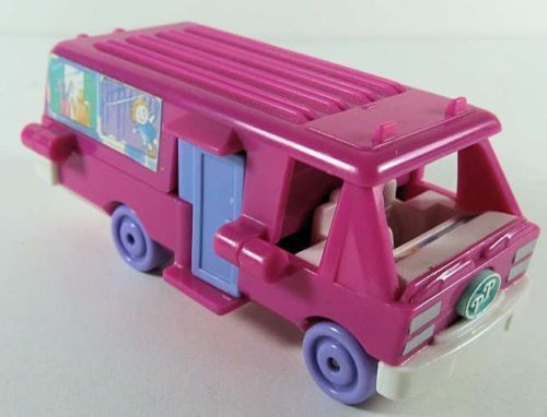 1994 Vintage Polly Pocket Home on the Go RV Vehicle plus One Doll
