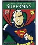 Superman Max Fleischer Cartoons Volume 2 DVD --... - $0.00