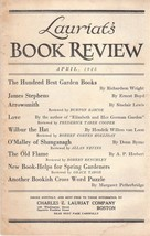 Lauriat's Illustrated Book Review and Catalog f... - $18.00