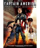 Captain America Movie - The First Avenger (DVD, 2011, 1-Disc Set)
