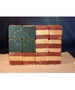 Handcrafted Antiqued Wooden UNITED STATES FLAG ... - $6.99