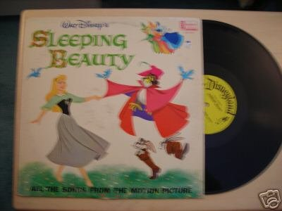 "Disneyland Record ""SLEEPING BEAUTY"" LP 1963"