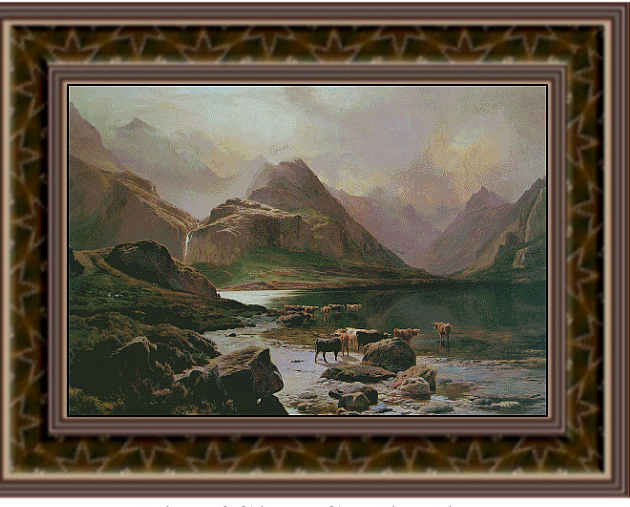 Isle of Skye  Scotland  Fine Art Counted Cross Stitch Patter