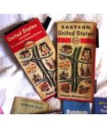 Lot Maps Atlantic City  Brochures Esso Atlas G... - $9.99