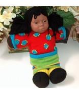 Anne Geddes African American Rag Doll Relda - $28.00