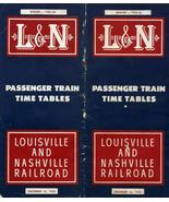 L & N Passenger Train Time Tables Dated Decembe... - $12.99