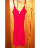 Gorgeous Red Stretch Mini Dress Spaghetti Straps - $20.00