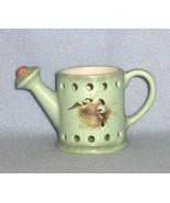 Hallmark Marjolein Bastin Nature's Sketchbook Candle Holder Ceramic Watering Can - $7.99