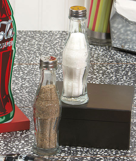 Coca-ColaÂ�® Salt And Pepper Shakers